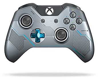 Xbox One Limited Edition Halo 5  Guardians Wireless Controller  Renewed