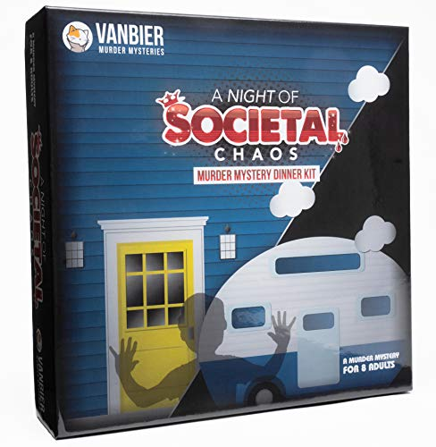 A Night of Societal Chaos, A Louisiana-Themed Murder Mystery Dinner Party Game for 8 Players