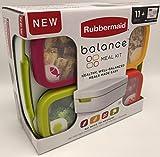 Rubbermaid 1995511 Balance - Juego de 11 recipientes de control de porciones