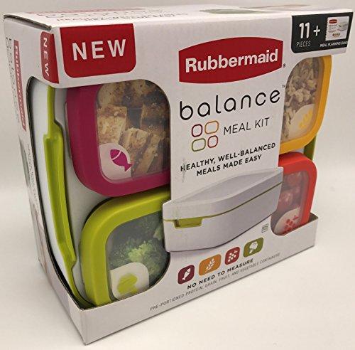 Rubbermaid 1995511 Balance Set repas 11 pièces