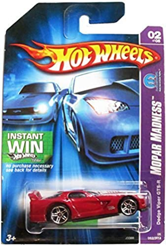 Hot Wheels 2006 Collector - Dodge Viper GTS-R - Mopar Madness - 2 of 5 by Hot Wheels