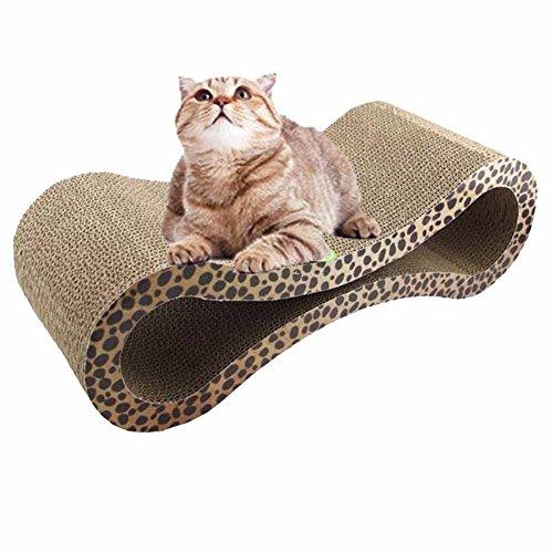 Pet Online Cat Scratcher Superior Cartón y Construcción Garra Cuidado Pet...