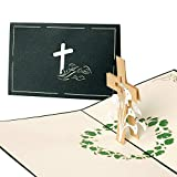 Trauerkarten, Beileidskarte, Danksagung, Pop-Up Karte