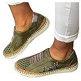 BIBOKAOKE Sneakers da donna, casual, con tacco basso, a rete, traspiranti, per fitness, palestra, attività all'aperto, con stampa di gatti