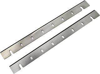 Planer Blades 12.5 Inch JESTUOUS for Dewalt DW733 HSS Planer Replacement DW7332 Single Edge Knives,12-1/2x1-1/16x1/8,2 pcs