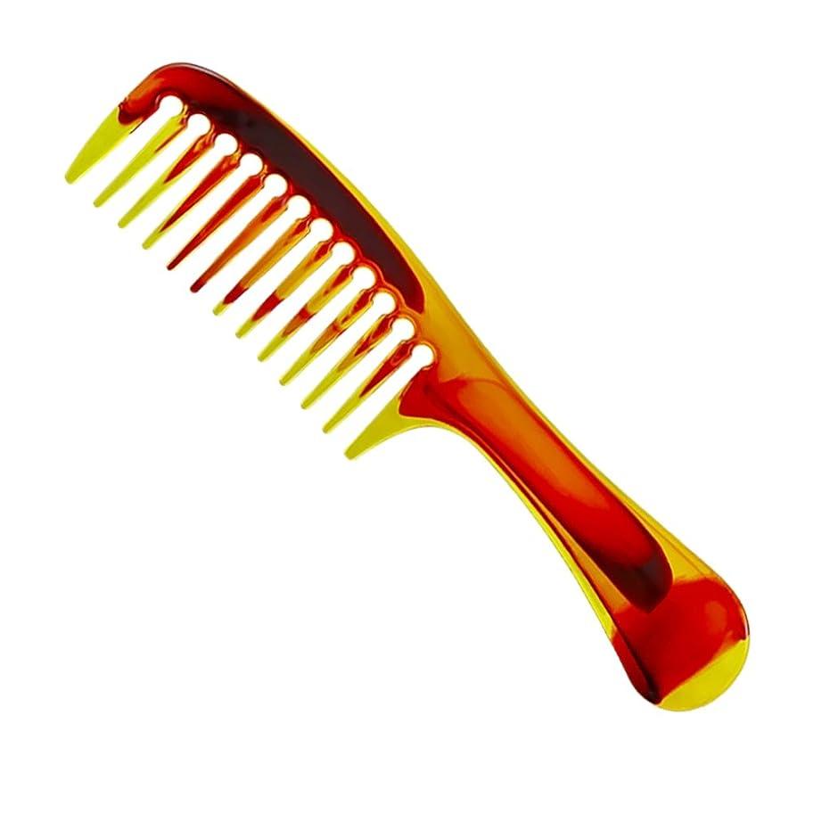 摘む毒液効果的にヘアくし 櫛 コーム 天然琥珀 静電気 防止 通りやすい 荒目 くし 頭皮マッサージ 美髪コーム 軽量 プラスチック 携帯に便利 男女兼用 くし 人気 贈り物 プレゼント C型