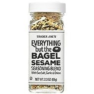 Trader Joe's Everything but The Bagel Sesame Seasoning Blend 2.3 oz, Pack of 2