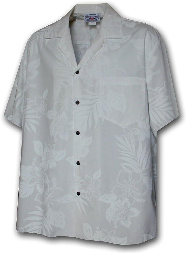 Boys Hawaiian Shirts Forever Hibiscus