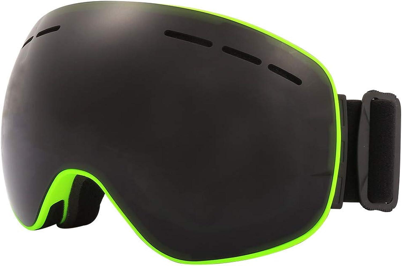 LOLIVEVE Magnet Skibrille Jiepolly Marke Anti-Fog Sphärische Große Skimaske Gesichtsbrille Snowboard Skating Brille Für Männer Frauen B07K82XQH1  Zart