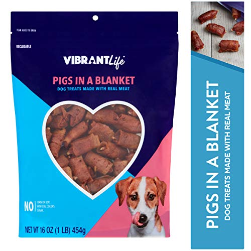 Vibrant Life Dog Treats (Pigs in a Blanket, 16 oz- 3Pack) Review