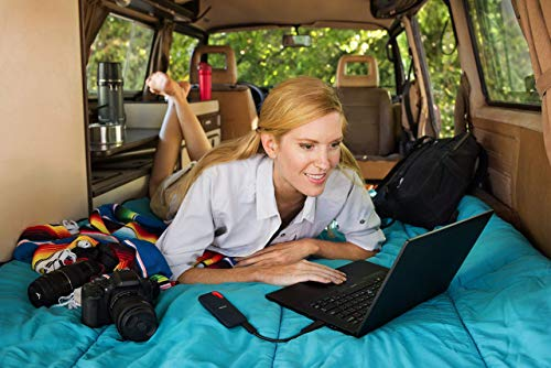 SanDisk Extreme Portable SSD externe SSD 500 GB (externe Festplatte mit SSD Technologie 2,5 Zoll, 550 MB/s Übertragungsraten, stoßfest, AES-Verschlüsselung, wasser- und staubfest) grau