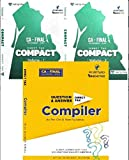 Combo Set Direct Tax COMPACT & Q/A Compiler Latest Edition CA Final