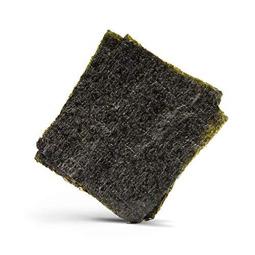 Reishunger Nori Algenblätter, GOLD-Qualität, für Maki Sushi, 50 Blatt à 2,8g (auch als 10er oder 100er Packung)