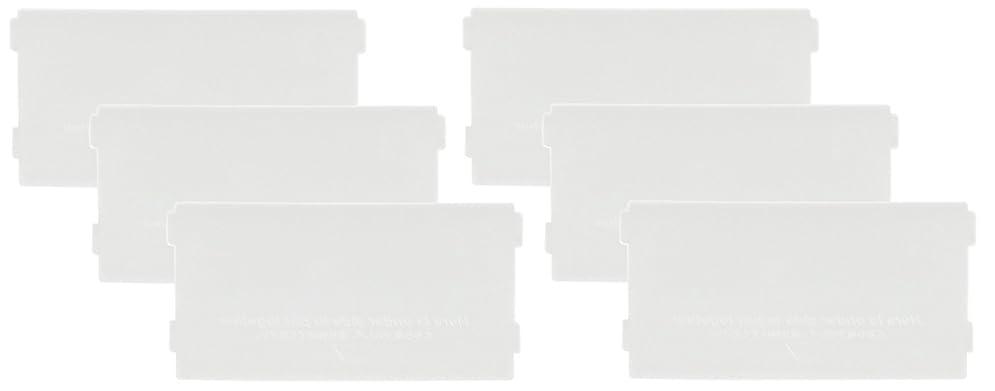 記事ビール湿気の多いlike-it 収納ケース ブリックス 仕切り板 ミニS用 2枚組x3セット クリア 幅6.6x高3.3x厚0.2cm 9105x3P