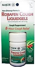 Robafen Cough Liquidgels Dextromethorphan HBr, USP 15mg, 20 Liquidgels (6 Packs) by Rugby