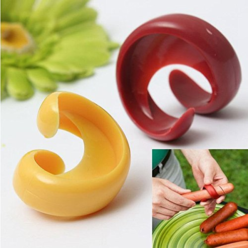 2PCS New Cyclone Barbecue Sausage Cutter Kitchen Tools Spiral Hot Dog Cutters Home DIY Sausage Slicer Gadget