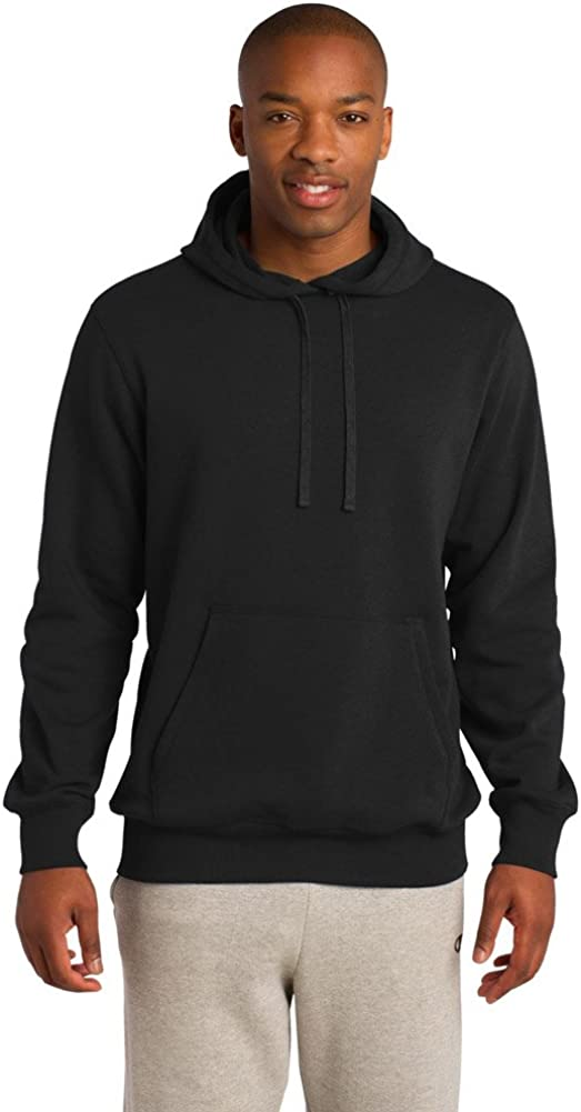 Sport Tek Tall Pullover Hooded Sweatshirt-3XLT (Black)