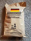 Armee Bundeswehr EPA Halal 1 BW MRE EINMANNPACKUNG Camping Essen Food Meal