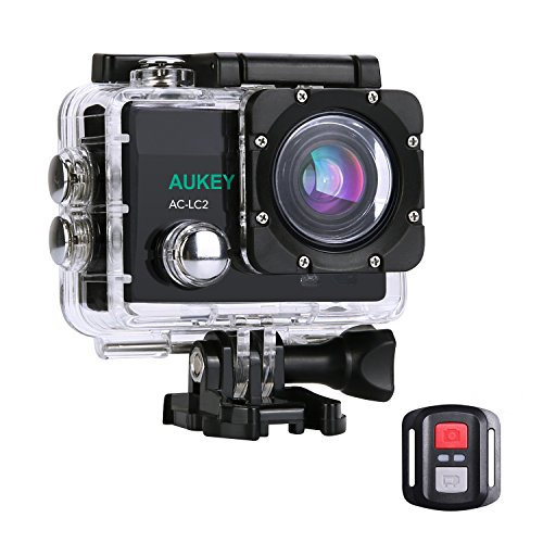 Aukey 4K Ultra HD Waterproof Action Camera