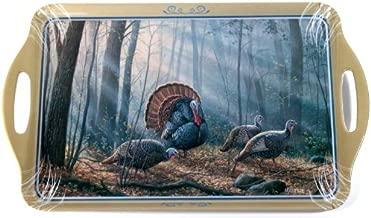 منتجات Motorhead 11بواسطة مقاس 18بوصة ملامين وجبة طعام ، تتميز Wild أجنحة مرخصة رسمي ً ا الأعمال الفنية الخاصة مع Turkeys من إكليل الجبل millette