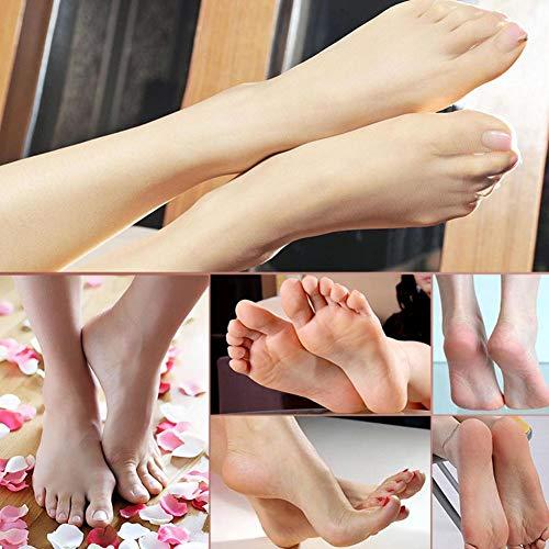 Removedor de callos de pie eléctrico, herramienta de pedicura recargable para el cuidado de los pies, para pieles agrietadas, secas, muertas, duras y callosidades Cuidado de los pies
