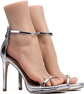 قدم سيليكون أزياء عادية Cream صنم القدم- 36A نموذج القدم - الأوعية الدموية الخارجية مزودة بتفصيلة واحدة 2019 الكاحل هواي...