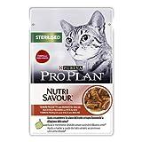 PURINA Pro Plan Comida Húmeda para Gato Esterilizado con Pollo en Salsa, 85gr 3400 g
