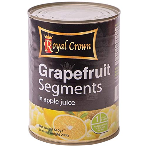 Royal Crown Grapefruit Segments in Juice - Pack Size = 12x540g