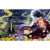 5D Diamante pintura Anime personaje Diamante pintura DIY mosaico punto de cruz pintura diamante set artesanía regalo(19.7x27.6inch)