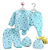 SIZE-0-3 MONTHS BABY 100% brand new and high quality Soft and breathable healthy cotton fabric Comfortable to touch and wear Animal pattern on the tops,footed, warm and cute Material: 100%cotton/Fleece/Falalen Applicable seasons: spring and autumn wi...