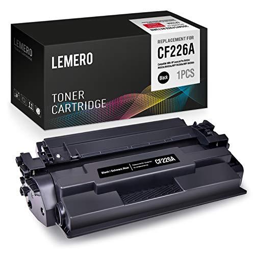 LEMERO CF226A 26A 3100 pagine(Con chip) Cartucce di Toner Compatibile per HP LaserJet Pro M402d M402n M402dn M402dne MFP M426dw M426fdn M426fdw Stampante,Nero