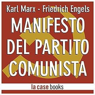Manifesto del Partito Comunista copertina
