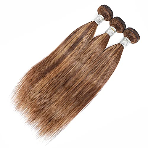 Brown blonde weave _image1