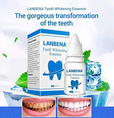 LANBENA Teeth Whitening Essence Oral Hygiene Cleaning Serum
