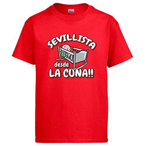 Diver Camisetas Camiseta Sevillista Desde la Cuna Sevilla fútbol