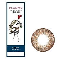 FLANMY フランミーワンデー 10枚入 【オレンジブラウニー】 -3.00
