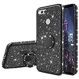 HMTECH Huawei Honor 7X Case Glitter Bling Diamond Plating
