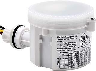 CINOTON 4FT Linear LED High Bay Light, LED Shop Light Fixture 223W 28990lm 1-10V dimmable 5000K [750W Fluorescent Equiv.] Motion Sensor Optional, Indoor Commercial Warehouse Area Light (Motion Sensor)