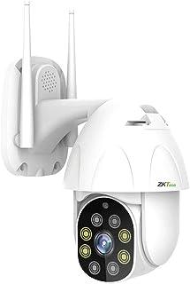 ZKTeco Cámara de Seguridad Exterior WiFi, PT1 IP Cámara Vi