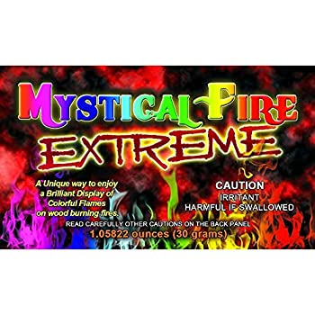 Extreme Mystical Fire Colorful Flames  12-Pack