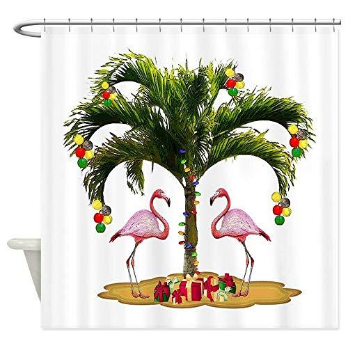 hdrjdrt CafePress Tropical Holiday Duschvorhang