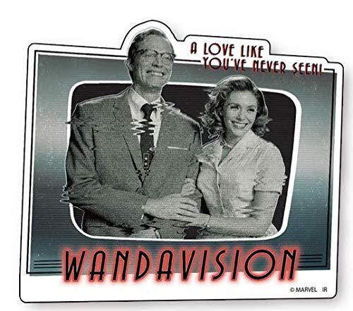 マーベル ワンダヴィジョン WandaVision IS692 ダイカットステッカーB