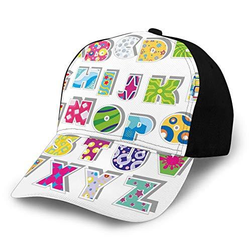 Fuliya, berretto da baseball per papà, misura regolabile, per corsa, allenamenti e attività all'aria aperta, con vari disegni astratti a pois, quadrati e schizzi di vernice