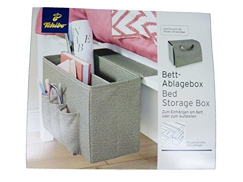 Tchibo TCM Bettablage Bett Ablagebox zum Einhängen/Aufstellen Zeitungsständer