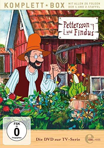 Pettersson und Findus - Staffelbox 1 + 2 - Alle Abenteuer auf DVD