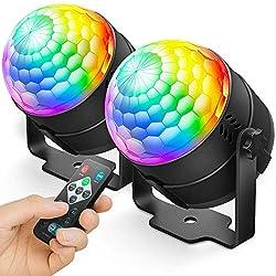 Image of NEQUARE Party Lights Disco...: Bestviewsreviews