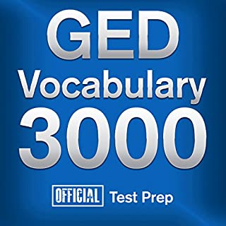 Official GED Vocabulary 3000 audiobook cover art