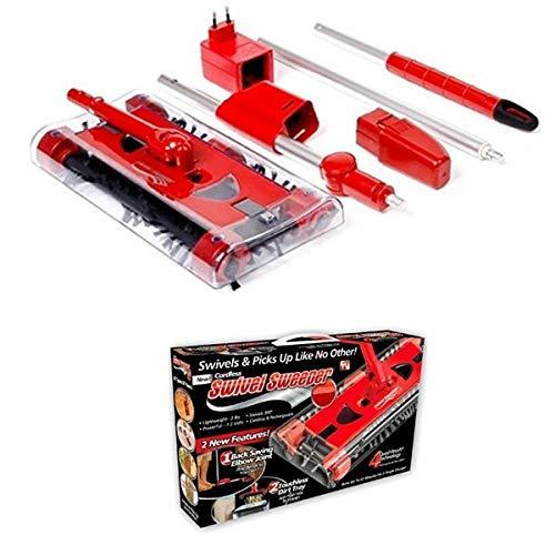 MANIASHOP Swivel Sweeper G6 - Escoba giratoria eléctrica para aspiradora