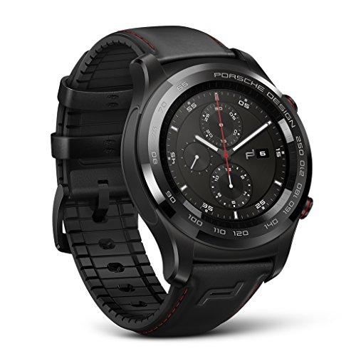 Porsche Design Huawei Smartwatch (4GB Memory, Bluetooth, Wi-Fi, IP68, Graphite Black) - International Version (Black)