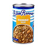 Blue RunnerCreole Seafood Gumbo Base25 Ounce Can (Pack of 6)A Rich, Flavorful and Authentic Creole ClassicAn Instant Meal, Just Add Meat